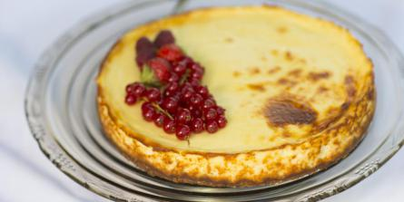 Cheese-cake new-yorkais