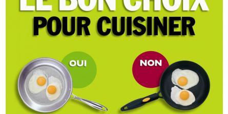 Livre le bon choix pour cuisiner thierry souccar editions for Quelle poele choisir pour cuisiner sainement