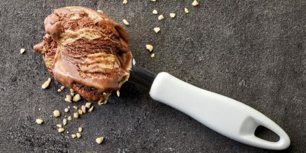 Glace chocolat-cacahuète cétogène