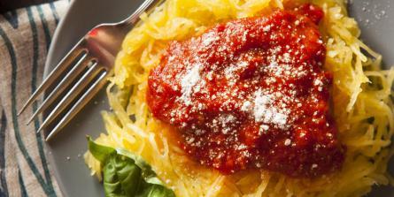 Spaghettis végétaux à la bolognaise